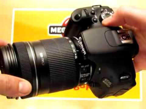 Videorecenze Canon EOS 600D tělo