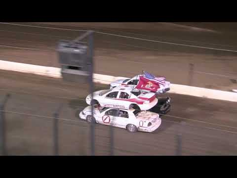 Perris Auto Speedway Double Decker Main Event 8-28-21 - dirt track racing video image