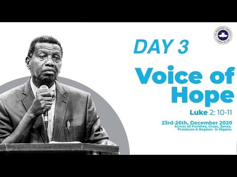 PASTOR E.A ADEBOYE SERMON - VOICE OF HOPE - AGO IWOYE/ILARO/IDI-IROKO