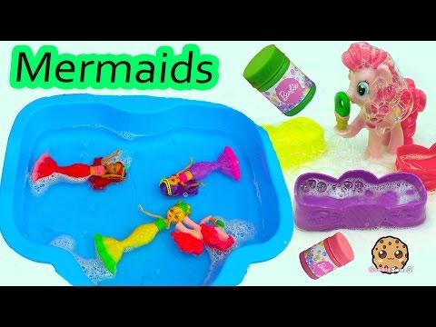 MLP Pinkie Pie Swims With Barbie Mini Mermaid Dreamtopia Bubbles N Fun Dolls - UCelMeixAOTs2OQAAi9wU8-g