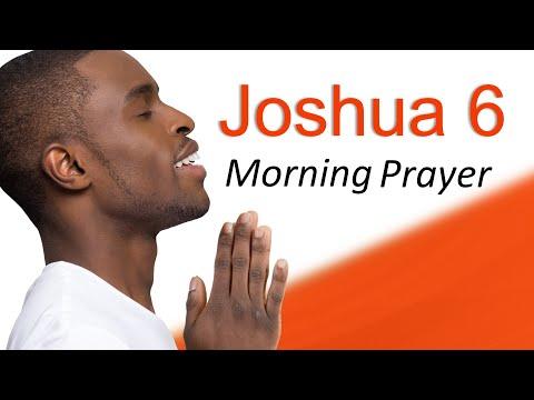 YOU WILL BREAKTHROUGH - JOSHUA 6 - MORNING PRAYER