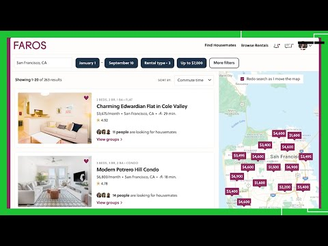 Faros a marketplace for furnished apartments and compatible housemates - UCCjyq_K1Xwfg8Lndy7lKMpA