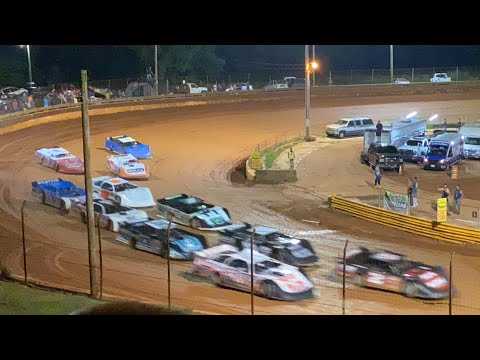 8/20/2021 602 Late Models Lavonia Speedway - dirt track racing video image