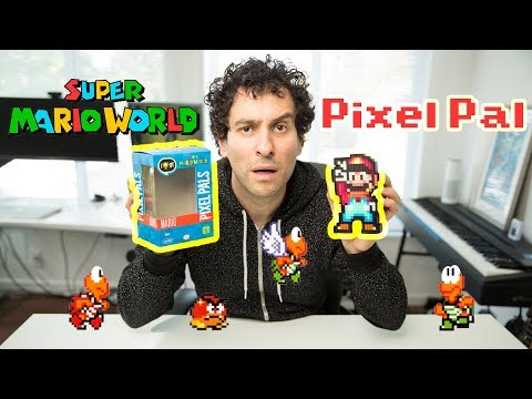Your man cave needs this! |  Hands-on with Super Mario Pixel Pal - UCFo8insXP4MuNmH4qXOy2Zw