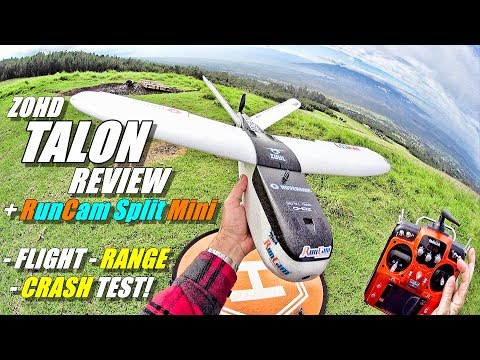 ZOHD NANO TALON FPV Review with RunCam SPLIT MINI & RadioLink AT10ii [Flight, Range, CRASH! Test] - UCVQWy-DTLpRqnuA17WZkjRQ