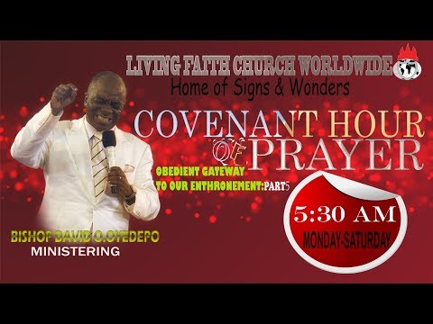 DOMI INC:COVENANT HOUR OF PRAYER  10, MAY 2019
