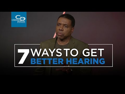 7 Ways To Get Better Hearing - Wednesday Service