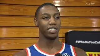 RJ Barrett Hungry To Prove Himself With Knicks