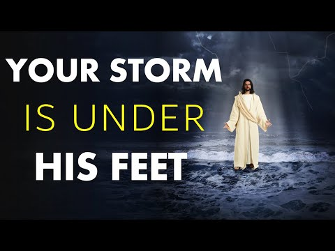 YOUR STORM IS UNDER HIS FEET - BIBLE PREACHING  PASTOR SEAN PINDER