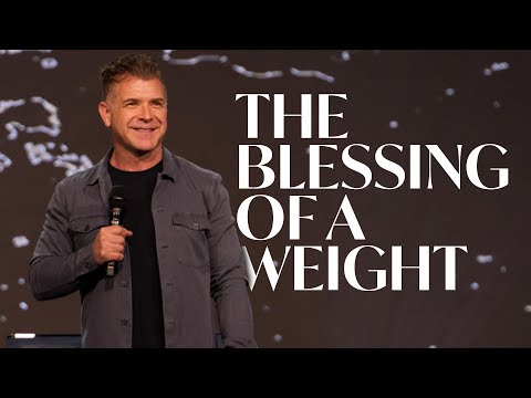 The Blessing of a Weight  Pastor Jeremy Foster  Hope City