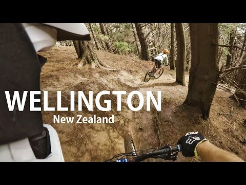 SUPER FUN FREERIDE Mountain Biking in Wellington New Zealand   GoPro   Jordan Boostmaster