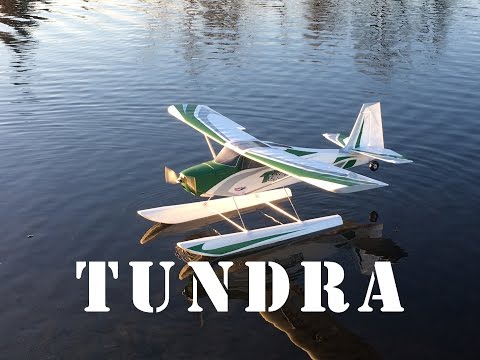 Hobbyking Durafly TUNDRA first time on floats! Awesome! - UCLqx43LM26ksQ_THrEZ7AcQ