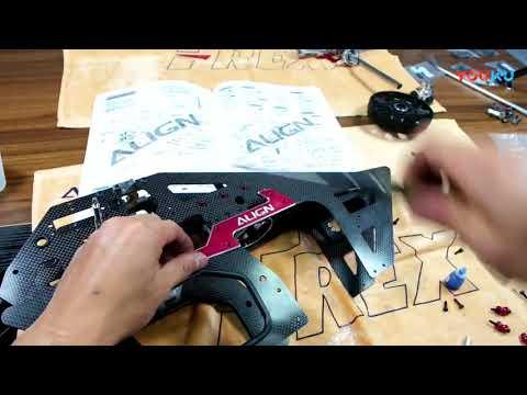 [Video]:  ALIGN T-REX 700XN Combo Kutu Açılım ve Montaj