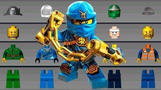 LEGO NINJAGO Build Helicopter, Monster Truck, Cars - LEGO Juniors Create & Cruise Kids Games