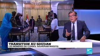 Le Conseil de transition soudanais,