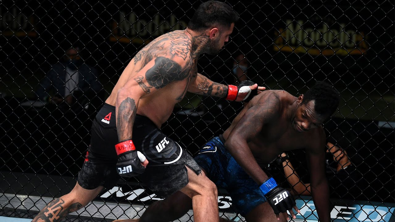 Best Finishes From UFC Vegas 23 Fighters