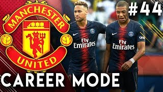 FIFA 19 Manchester United Career Mode EP44 - The Neymar & Mbappe Show!! Incredible Hat-Trick!!