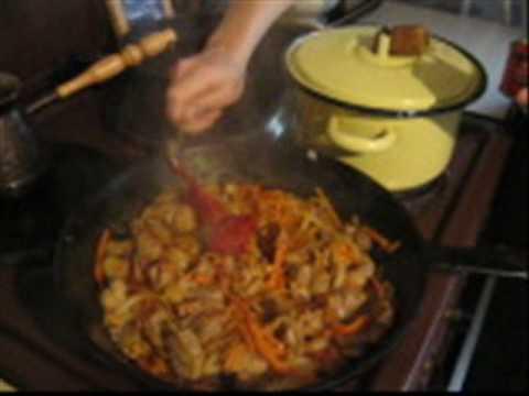 Перловая каша с мясом - Guiso de cebada perlada - UC1x-CjNQUmE1X7y1nQoOiBg