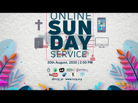 RCCG AUGUST 30th 2020  PASTOR E.A ADEBOYE SPECIAL SERVICE