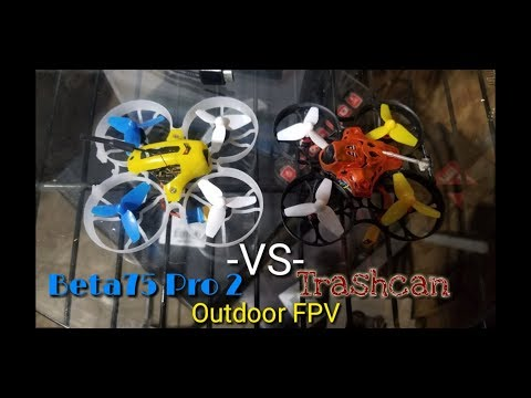 Eachine Trashcan vs Beta75 Pro 2 - Outdoor FPV and Camera Quality Observation - UCNUx9bQyEI0k6CQpo4TaNAw