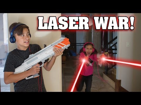 RECOIL LASER TAG WAR!!! Video Game Brought to Life! - default