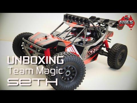 Unboxing: Team Magic Seth Desert Buggy - UCOfR0NE5V7IHhMABstt11kA