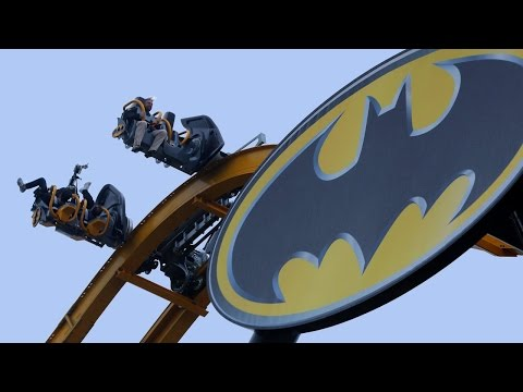 Batman 4D Roller Coaster