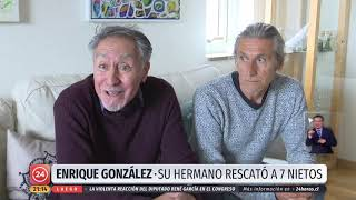 La historia de Patricio González para rescatar a sus 7 nietos huérfanos en Siria