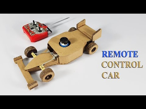 How to make Wireless Remote Control Car using cardboard - default