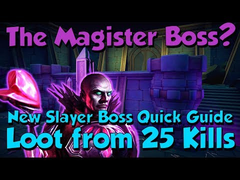 The Magister!? Tips & Tricks on the New Boss [Runescape 3