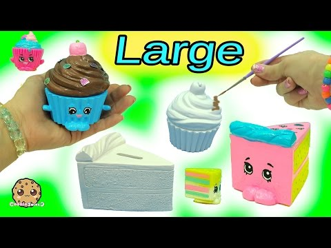 Big Large Inspired Shopkins Made From Cupcake & Cake Slice DIY Painting Craft Kit + Clay - UCelMeixAOTs2OQAAi9wU8-g