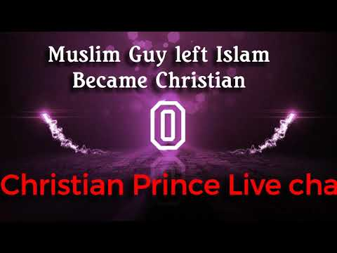 Never heard this ? Muslim guy left Islam & became christian @ CP's Live Chat
