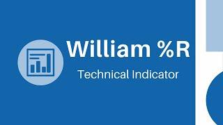 Williams Percent Range - Technical Analysis Basics |Intraday Signals|Stock Market|NSE|Nifty|