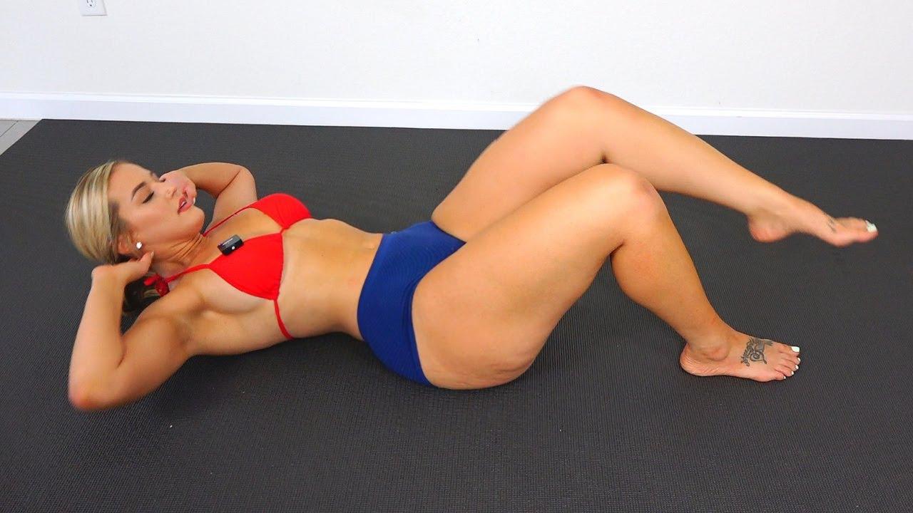 Thick Hips Slim Waist Ab Toning Workout!