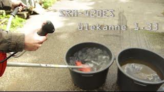 Võsalõikurite veeämbri test