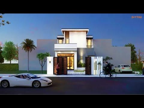 2-storey villa has 2 bedrooms, each room has its own bathroom