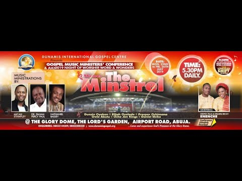 2019 GOSPEL MUSIC MINISTERS' CONFERENCE - DAY 1: 25.07.2019