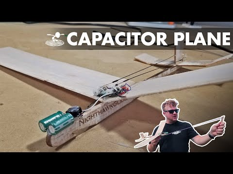 Powered R/C glider without batteries!? | Capacitor plane hack - UC9zTuyWffK9ckEz1216noAw