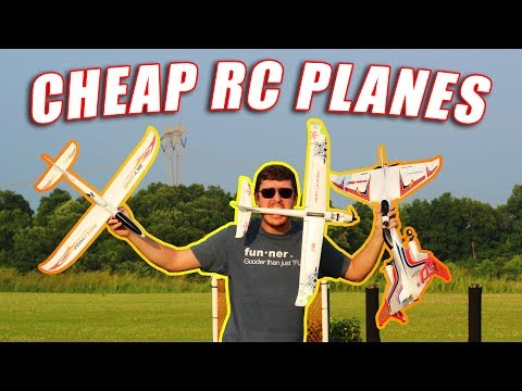 Top 4 BEST CHEAP RC Planes - AWESOME for Beginners - TheRcSaylors - UCYWhRC3xtD_acDIZdr53huA