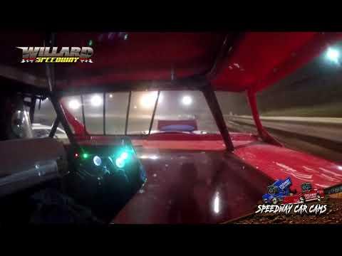 #15 Brain Pennington - Open Wheel Modified - 8-7-21 Willard Speedway - In-Car Camera - dirt track racing video image