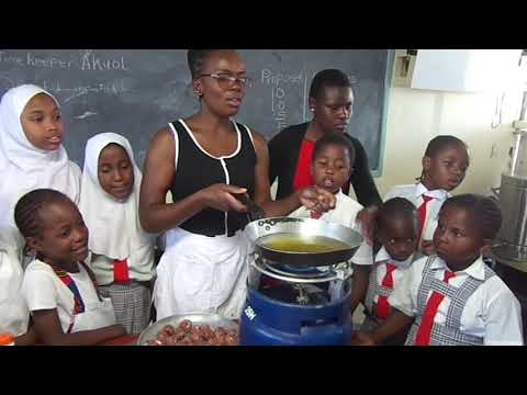 Rudan Junior Academy Cookery Club, How to Prepare Meat Balls