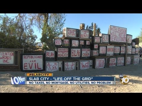 Slab City: Last free place in US? 10News' Steve Atkinson visits with people living 'off the grid' - default