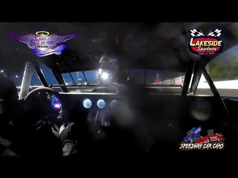 #27 David 'Crazy Dave' Oxford - USRA Stock Car - 5-14-2021 Lakeside Speedway - In Car Camera - dirt track racing video image