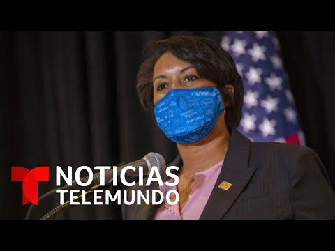 La alcaldesa de D.C. pidió ayuda a la Guardia Nacional | Noticias Telemundo