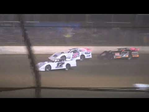 Steel Block B-Main #2 from Portsmouth Raceway Park, October 16th, 2021. - dirt track racing video image