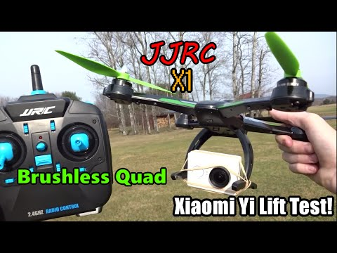 JJRC X1 and Xiaomi Yi Lift Test - UC2c9N7iDxa-4D-b9T7avd7g