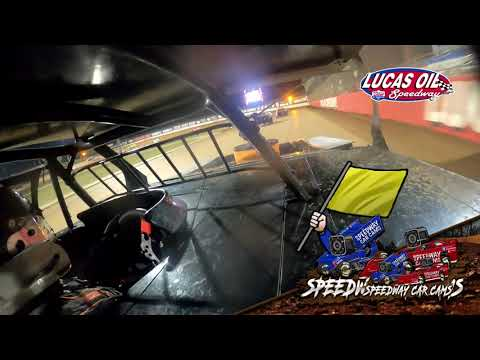 #54 Shawn Whitman - Usra B Modified - 8-21-2021 Lucas Oil Speedway - In Car Camera - dirt track racing video image