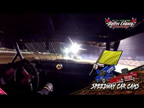 #93 Daniel Barton - Pure Stock - 5-7-2021 Dallas County Speedway - In Car Camera - dirt track racing video image