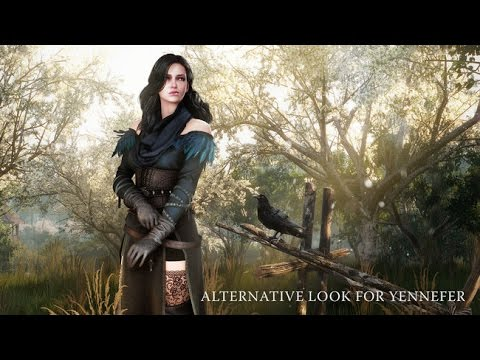 The Witcher 3 Yennefer Alternate Outfit DLC | FpvRacer lt
