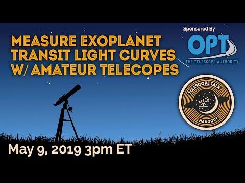 How to Measure Exoplanet Transit Light Curves w/ Amateur Telescopes - UCQkLvACGWo8IlY1-WKfPp6g